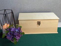 Kleine Holzkiste 32 x16 x 12 cm